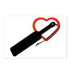 Love paddles Postcards (Package of 8)