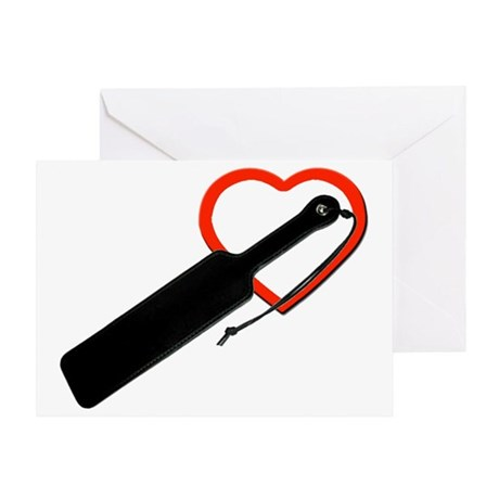 Love paddles Greeting Card