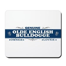 OLDE ENGLISH BULLDOGGE Mousepad