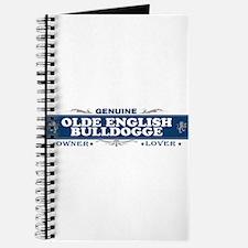 OLDE ENGLISH BULLDOGGE Journal