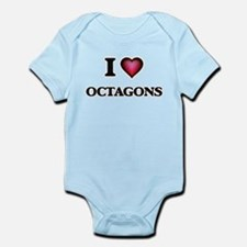 I Love Octagons Body Suit