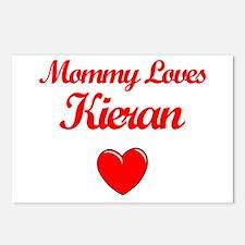 Mommy Loves Kieran Postcards (Package of 8)