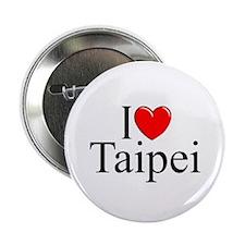 """I Love Taipei"" 2.25"" Button"