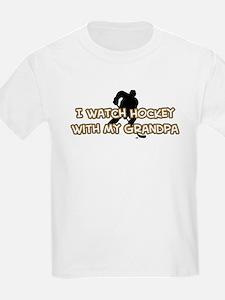 Dallas Hockey Grandpa T-Shirt