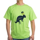 Native american rabbit Green T-Shirt