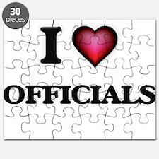 I Love Officials Puzzle