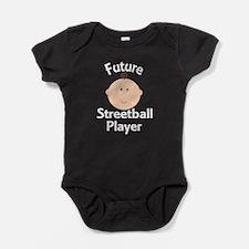 Future Streetball Player Baby Bodysuit