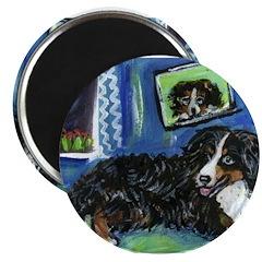 BERNESE MOUNTAIN DOG Art! 2.25