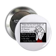 "Librarians & Cocktails 2.25"" Button (10 pack)"