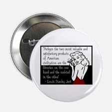 "Librarians & Cocktails 2.25"" Button"