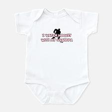 Edmonton Hockey Grandpa Infant Bodysuit