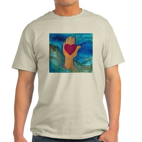 Heart in Hand Light T-Shirt