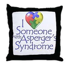 Asperger's Syndrome Autism Awareness Throw Pillow