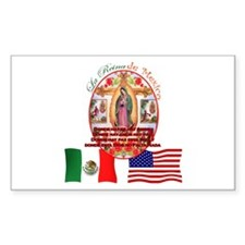 Reina de Mexico Rectangle Decal