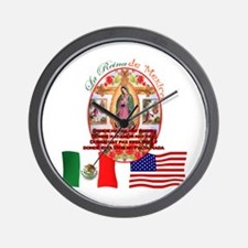 Reina de Mexico Wall Clock