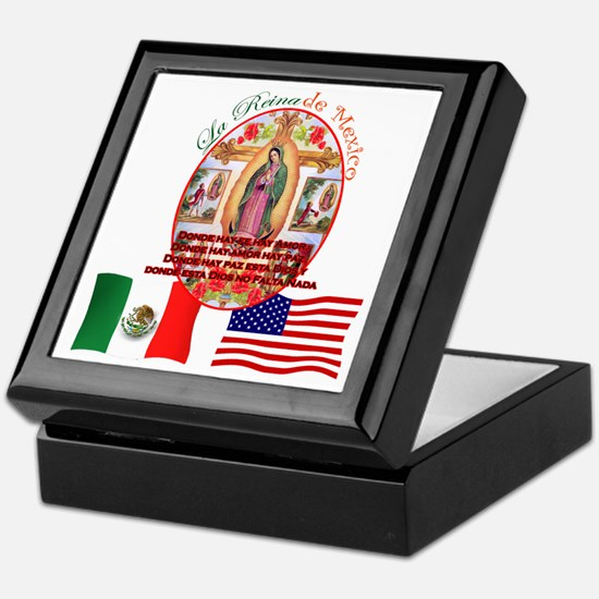 Reina de Mexico Keepsake Box