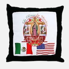 Reina de Mexico Throw Pillow