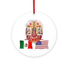 Reina de Mexico Ornament (Round)