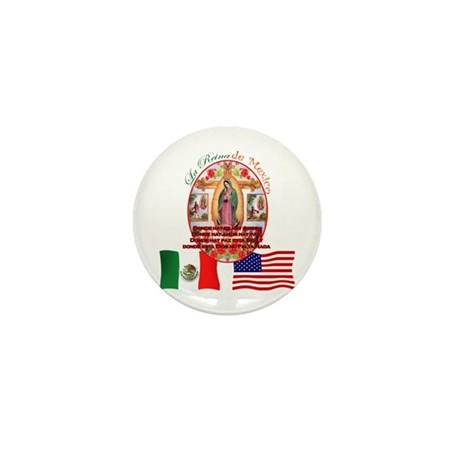Reina de Mexico Mini Button