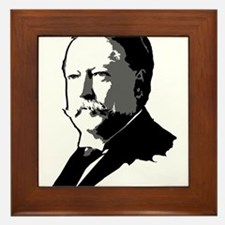 William Howard Taft Framed Tile