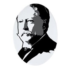 William Howard Taft Oval Ornament