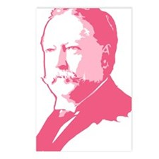 Pink President Taft Postcards (Package of 8)