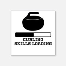 Curling Skills Loading Sticker