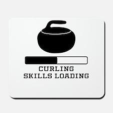 Curling Skills Loading Mousepad