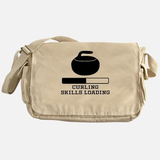 Curling Skills Loading Messenger Bag