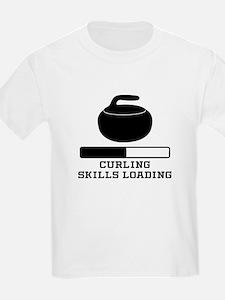 Curling Skills Loading T-Shirt