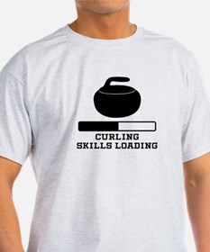 Curling Skills Loading T-Shirt