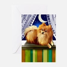 pomeranianlsw Greeting Cards