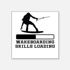 Wakeboarding Skills Loading Sticker
