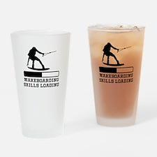 Wakeboarding Skills Loading Drinking Glass