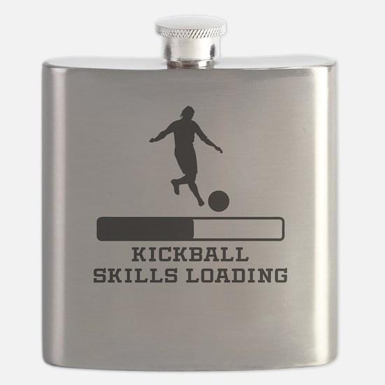 Kickball Skills Loading Flask