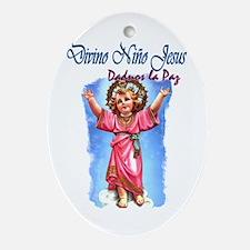 El Divino Niño Oval Ornament