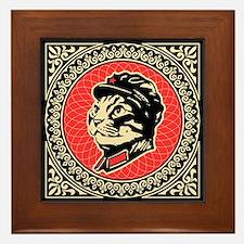 Leader Chairman Meow - Cat Framed Tile