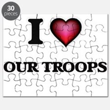 I love Our Troops Puzzle