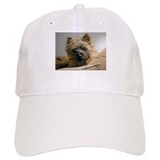 Pensive Cairn Terrier Baseball Cap