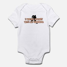 Florida Hockey Grandpa Infant Bodysuit