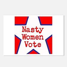 Nasty Women Vote Postcards (Package of 8)