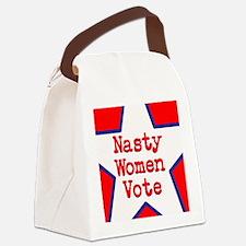 Nasty Women Vote Canvas Lunch Bag