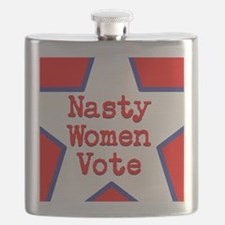 Nasty Women Vote Flask