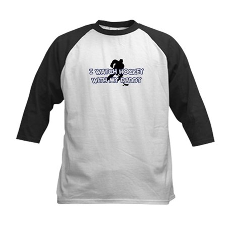 Los Angeles Hockey Daddy Kids Baseball Jersey