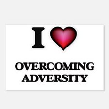 I Love Overcoming Adversi Postcards (Package of 8)