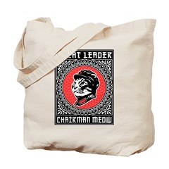Great Leader Chairman Meow - Tote Bag