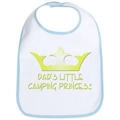 Dad's Camping Princess Bib