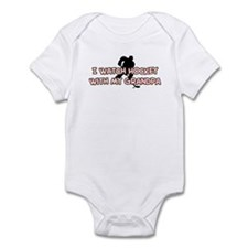 Minnesota Hockey Grandpa Infant Bodysuit