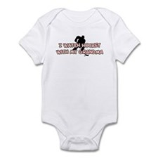Minnesota Hockey Grandma Infant Bodysuit