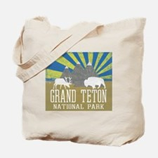 Unique Grand teton national park Tote Bag